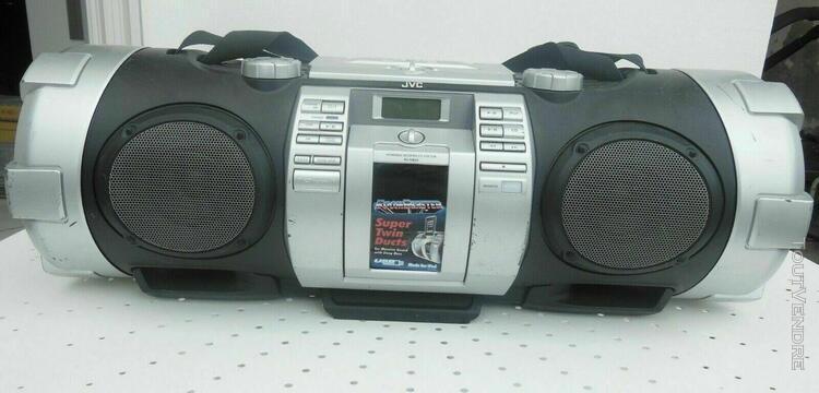 ghetto blaster - jvc rv-nb 75 radio-réveil boomblaster