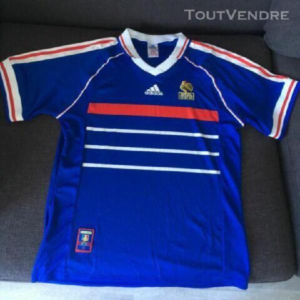 Maillot collector equipe de france coupe du monde 98