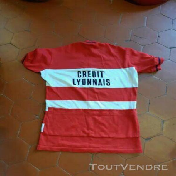 Maillot cycliste vintage crédit lyonnais rare
