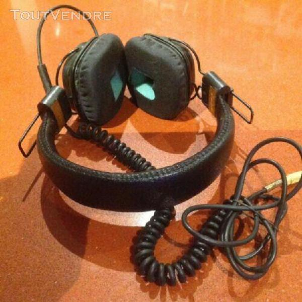 marshall casque noir filaire