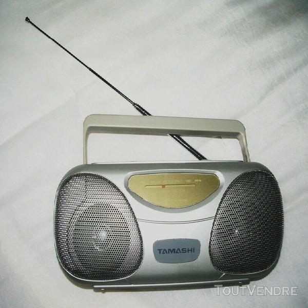 petite radio fm - tuner avec antenne, de marque tamashi