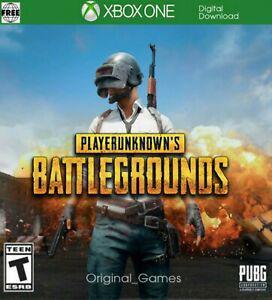 Playerunknown's battlegrounds xbox one cd key