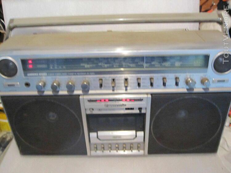radio cassette vintage panasonic rx 5250 ls