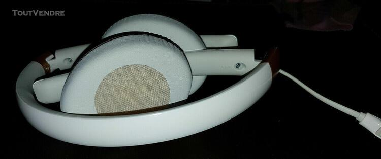 sennheiser hd2.30i casque supra-auriculaire fermé, blanc