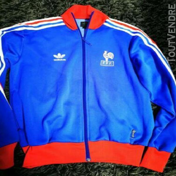 SURVETEMENT ADIDAS EQUIPE de France 90'S Nylon veste