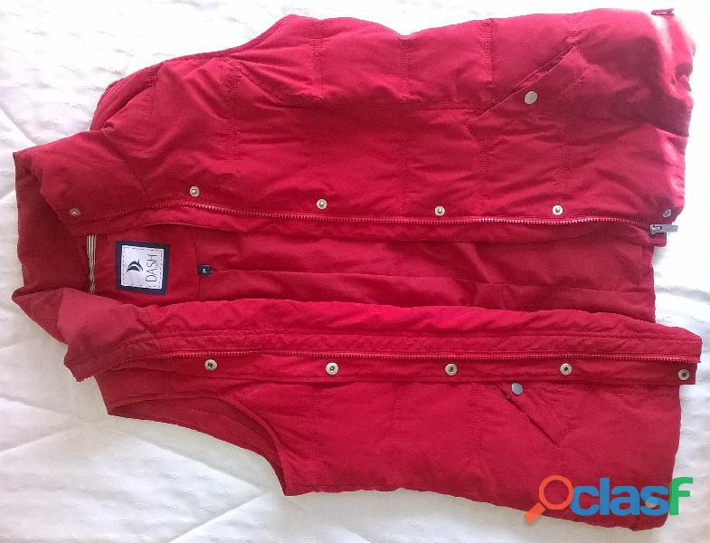Veste sans manche matelassée rouge, marque DASH, taille 44
