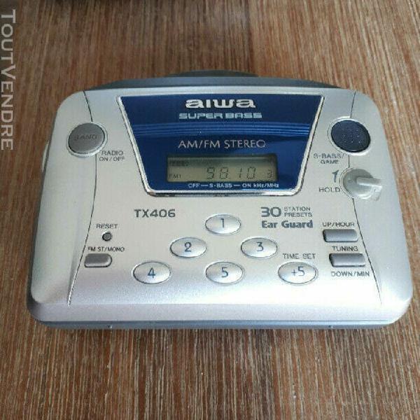 vintage walkman aiwa radio stereo cassette player super bass