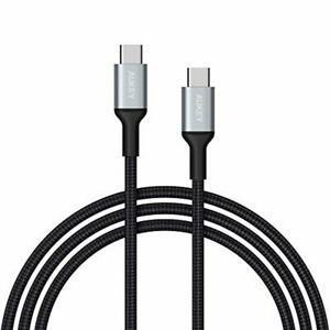 Aukey câble usb c à usb c 2m en nylon câble usb type c de