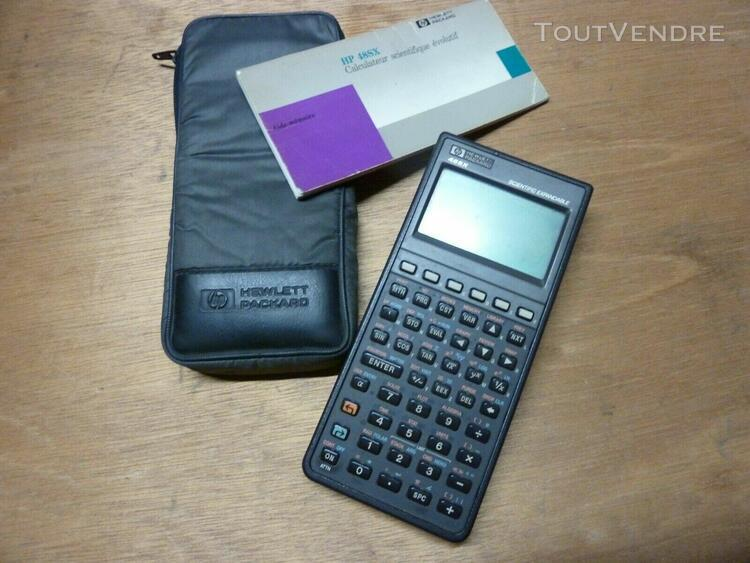 calculatrice scientifique hp 48sx à réviser