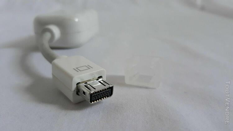 câble original apple mini-vga vers vidéo rca ou s-video