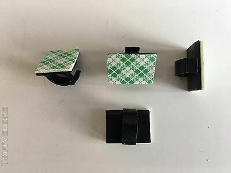 clips attaches fil electrique/cÂble: 10 achetÉs = + 5