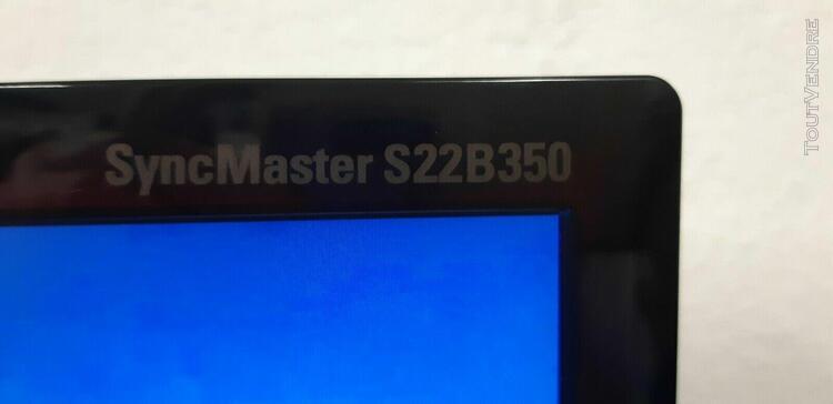 cran pc led samsung s22b350. 21.5 pouces avec port hdmi