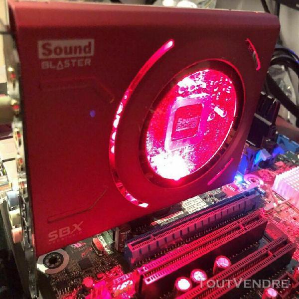 Creative labs sound blaster z sb1500 sbx pci-e audio sound c
