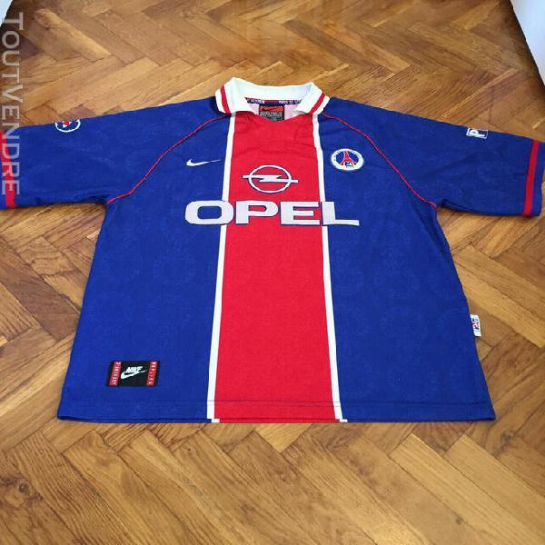 Maillot psg 1996 1997 size xl jersey shirt camiseta camicia