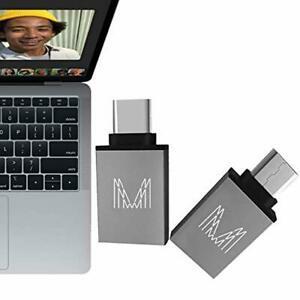 Mmfo adaptateur usb type c pour charge rapide des données -