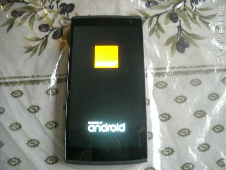 Smartphone 4g orange nura [pour pièces]