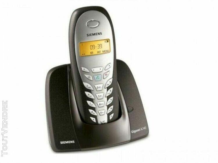 Téléphone duo a240 -fixe sans fil - siemens