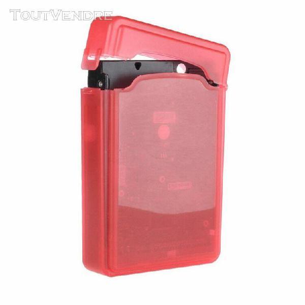 Transparent hdd disque dur housse de protection boîte de