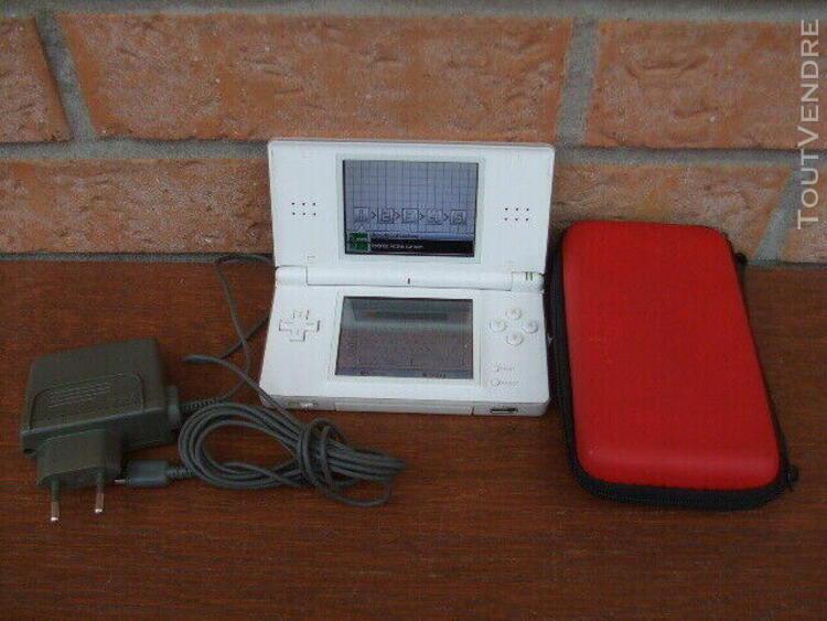 Console de jeux ds lite coque blanche complète avec