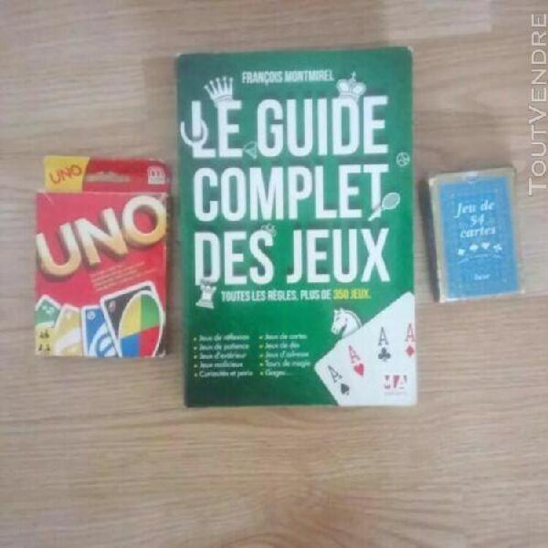 Guide complet des jeux + jeux de cartes