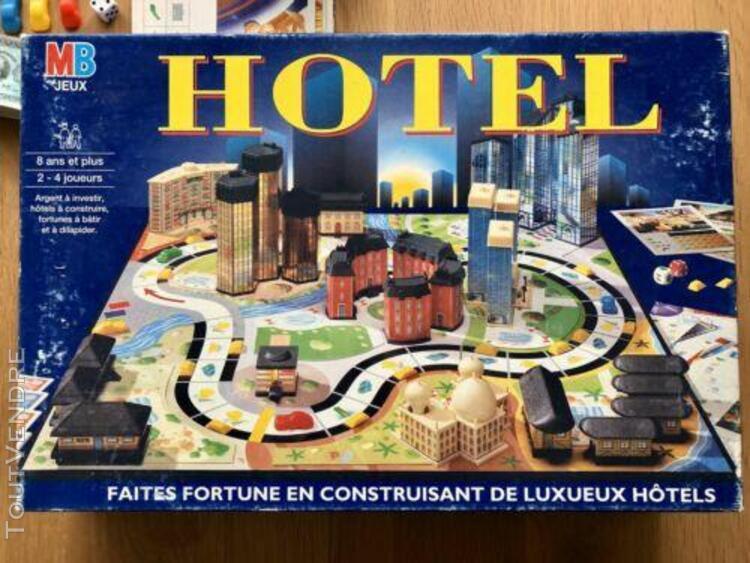 Jeu de société hotel - mb - complet