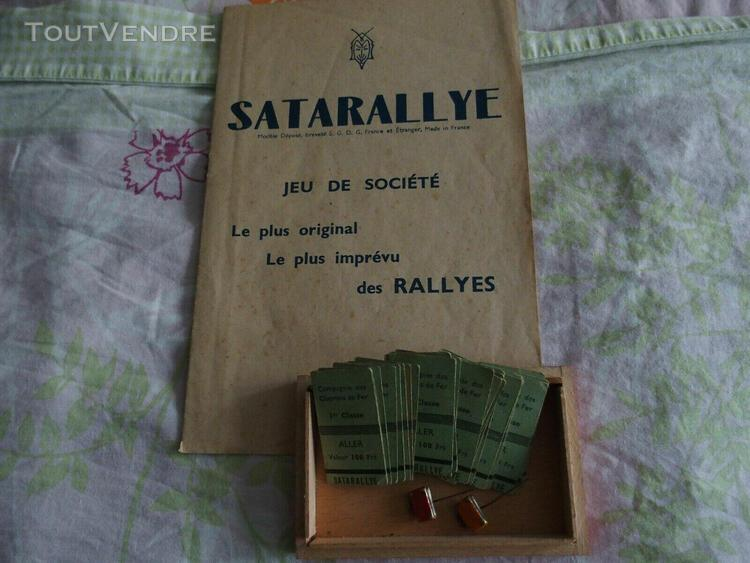 Jouets jeux ancien satarally collection