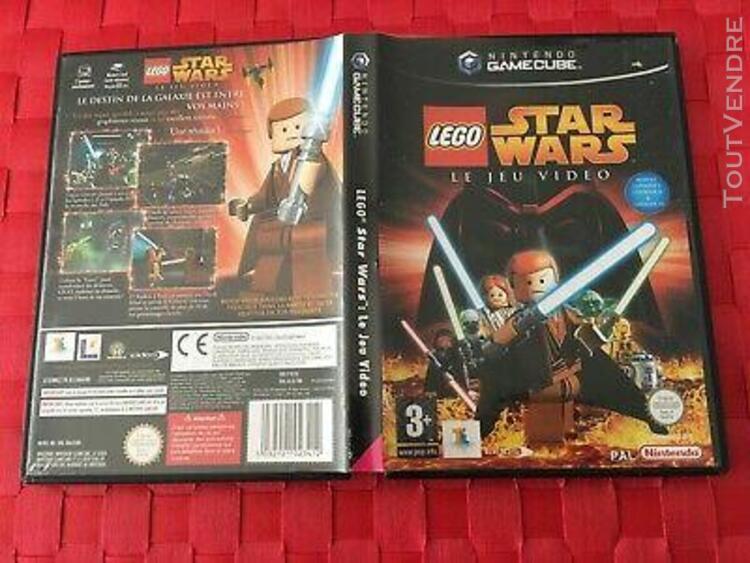 Lego star wars le jeu video !! nintendo gamecube