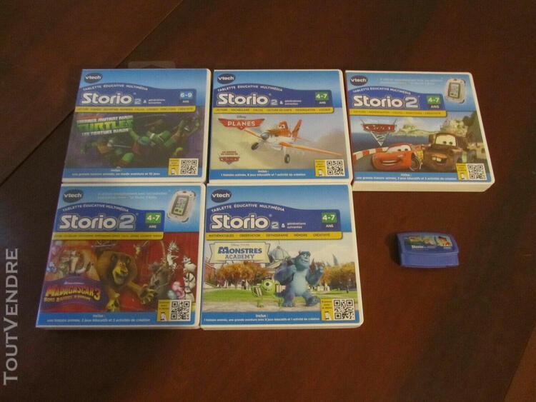 Lot de 6 jeux storio 2