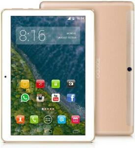 4g lte tablette tactile 10 pouces - toscido android 9.0 octa