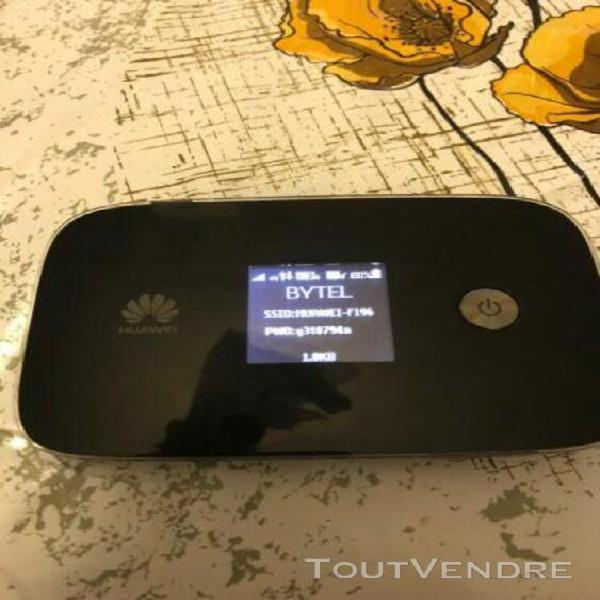 Huawei e5786-32 modem 4g cat6 debloque tous operateur