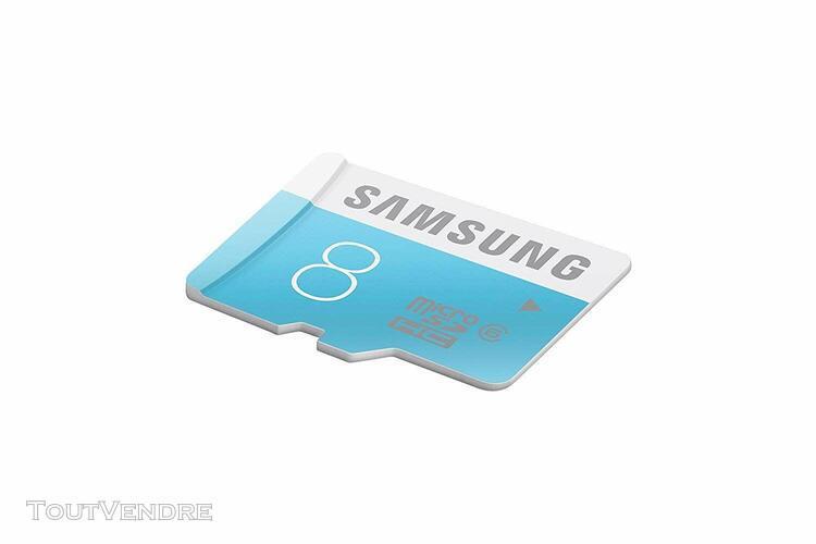 Samsung carte mémoire standard microsdhc classe 6 8 go avec