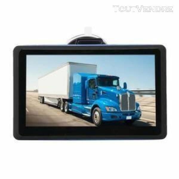 7 pouces 8g voiture camion navigateur gps rom navigation blu