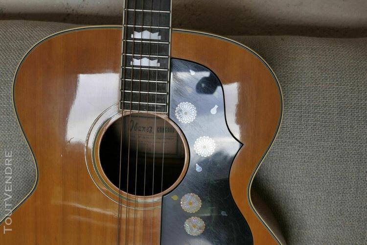 Guitare ibanez concord 698m jumbo 1975