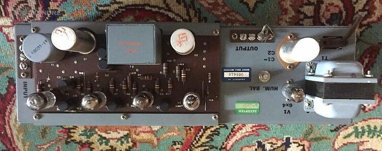 Rare 50's gates m5576 tube program amplifier triad