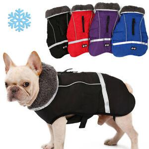 Manteau de chien temps froid chien manteaux pour hiver chaud