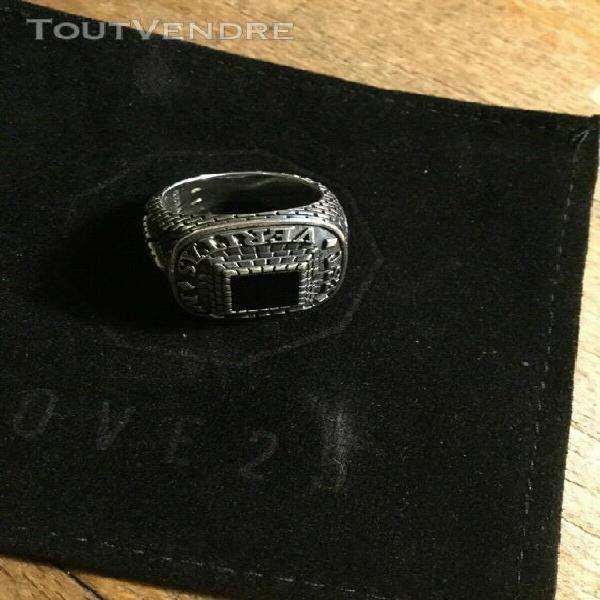 Bague ring silver nove25 masonic