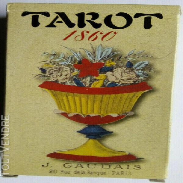 Jeux de tarot reproduction gaudais 1860