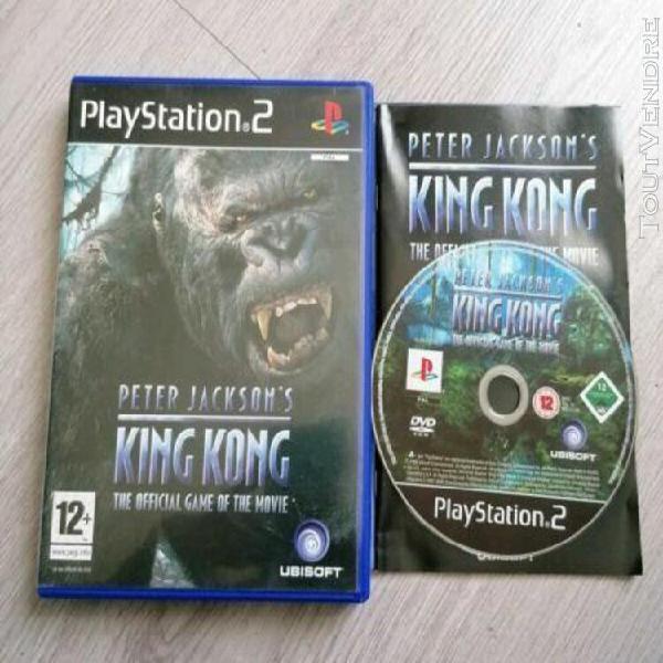 Jeux vidéo peter jackson king kong ubisoft playstation 2 vf
