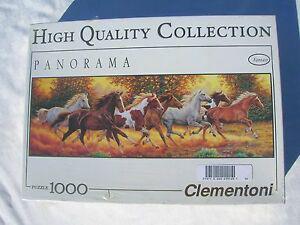 "Puzzle panorama "" clementoni "" 1000 pieces neuf sous plister"