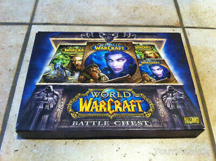 World of warcraft battle chest pc big box (non nintendo ni