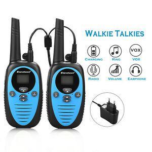 2x excelvan xf-508 talkies walkies enfants 8 canaux