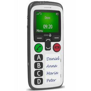 Téléphone portable doro secure 580 blanc -classic