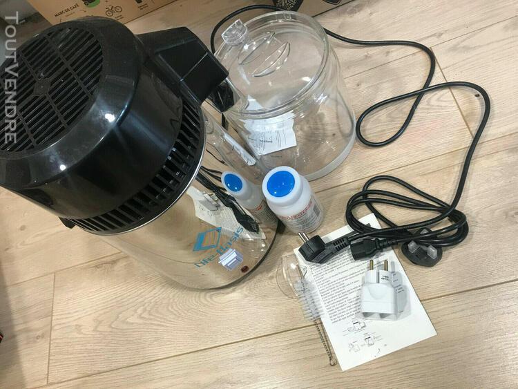 LifeBasis 10 Filtres /à Charbon Actif pour Distillateurs deau