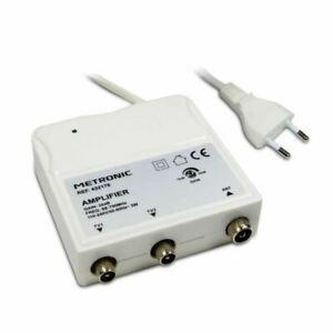 metronic 432176 amplificateur d'intérieur a réglage