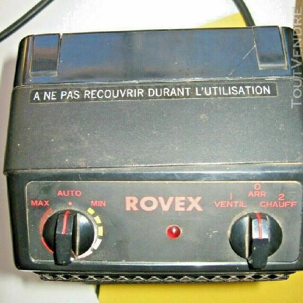 Radiateur céramique rovex à usage d'appoint