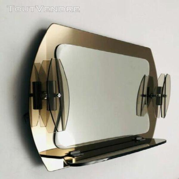 Superbe ensemble accessoires de salle de bains fontana arte