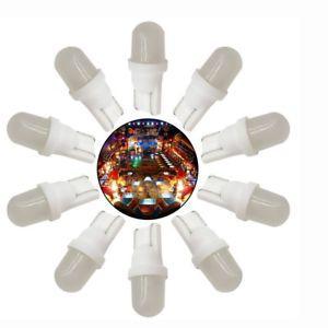 45 ampoules led givré #555 pour tout flipper (blanc chaud)