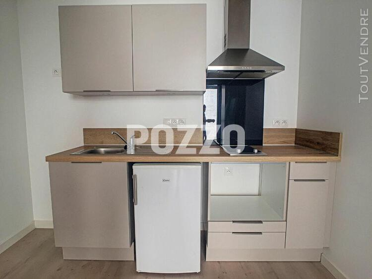 Appartement 2 pieces renove - granville centre - 25 m²