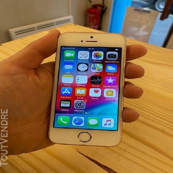 Apple iphone se - 64 go - or rose (désimlocké)