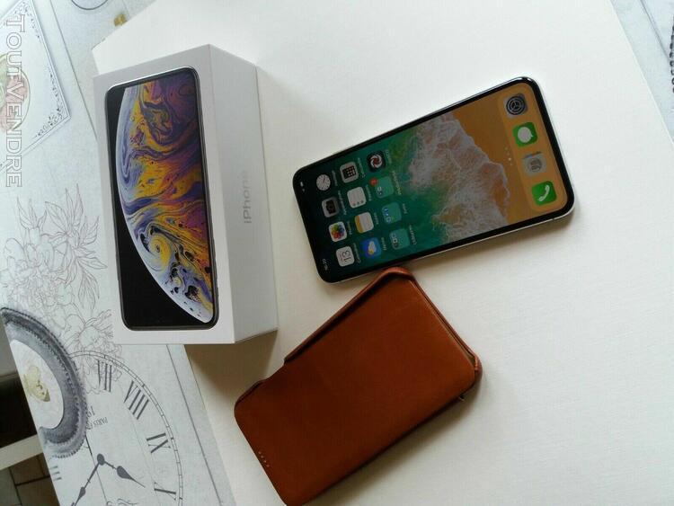 Apple iphone xs max - 64 go - argent (désimlocké)